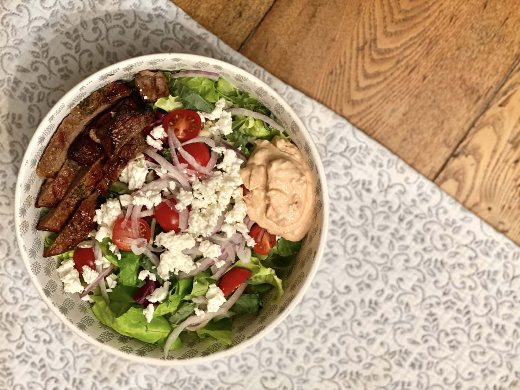 Recipe of the Week- Steak Salad with Chipotle Dressing