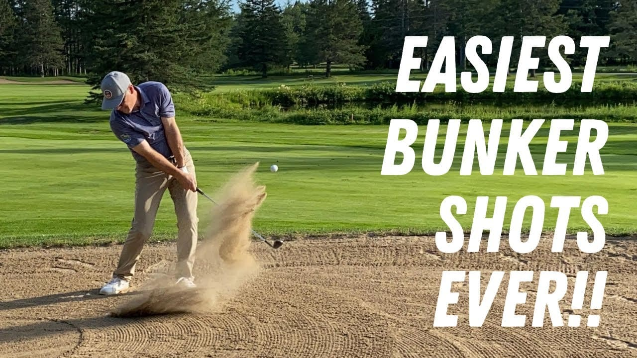 3 AWESOME BUNKER TIPS TO GET OUT OF THE SAND EASILY FROM ANY LIE!