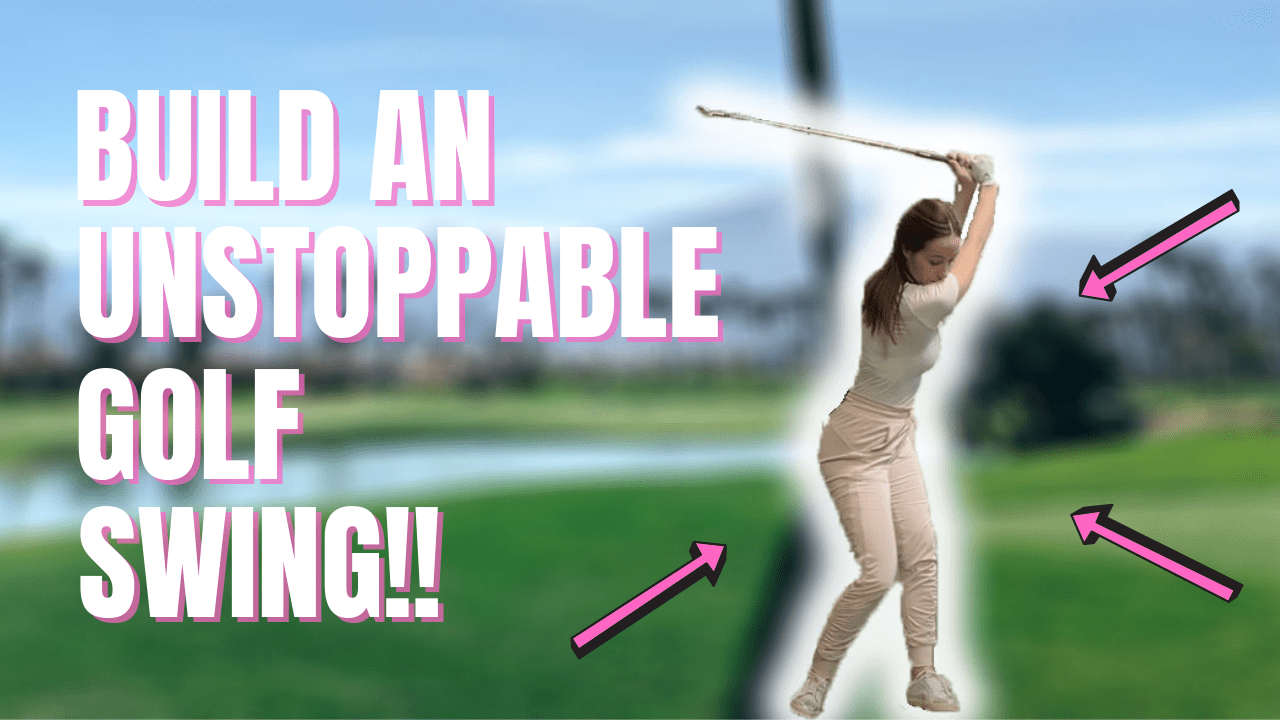 BUILD AN UNSTOPPABLE GOLF SWING💪🏌️ And never worry about WEIGHT SHIFT again!
