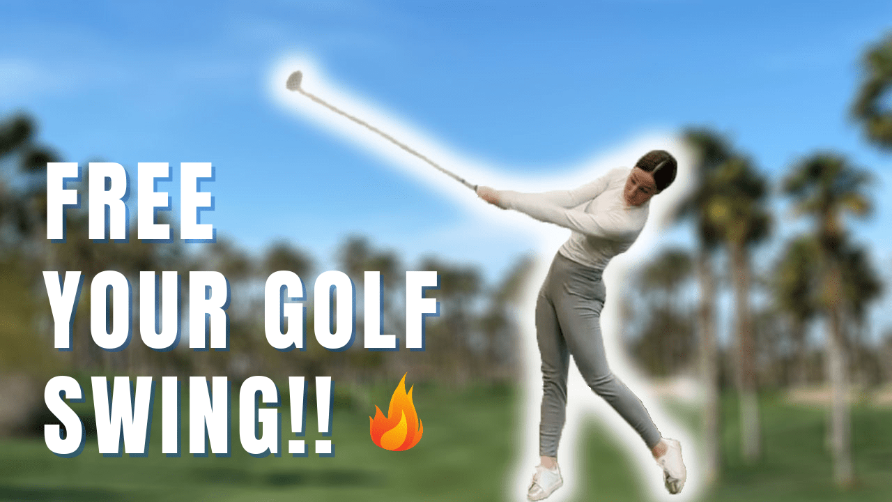 RELEASE YOUR GOLF SWING AND ADD 20 to 50 MORE YARDS!!