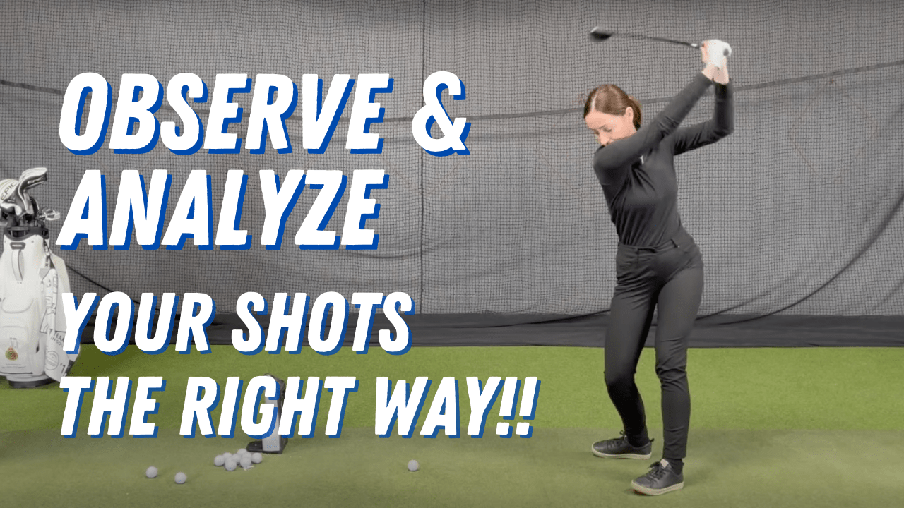 HOW TO FIX TOP-SLICE-HOOK-FAT-OVER THE TOP GOLF SHOTS🥵WAY EASIER THAN YOU THINK!😎😎