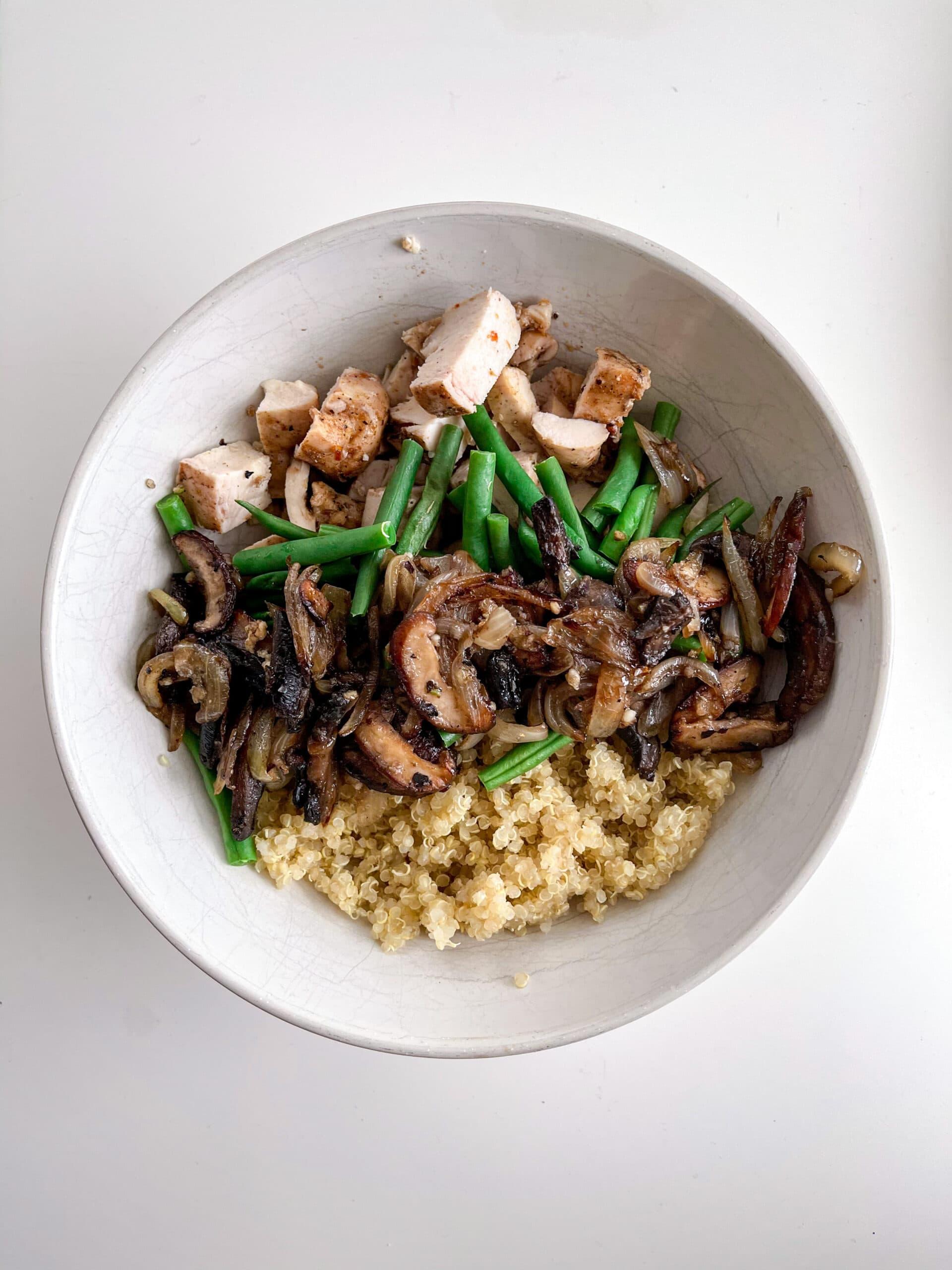 Chicken & Quinoa Bowl